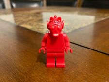 LEGO STAR WARS RED PROTOTYPE MOLD GREEDO SDCC NYCC RARER THAN MR GOLD UNIQUE!