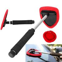 Car Windshield Wiper Cleaner Microfiber Cleaning Brush Glass Window Scraper Tool