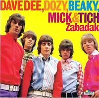 (CD) Dave Dee, Dozy, Beaky, Mick & Tich - Zabadak, The Legend Of Xanadu, Save Me