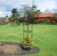 Nouveau Jardin Kingfisher acier Obélisque Jardin Extérieur Rose Plante Arch 1,9 m FREE P&P