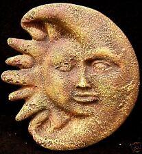 Celestial Sun and Moon Wall Plaque Home and Garden