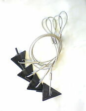 """4"""" Ground Anchor  """"HEAVY DUTY"""" Tie Down Kit  """"Complete"""""""