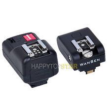 Flash Hotshoe Adapter Remote Trigger + Receiver for Sony NEX 3 NEX 5 NEX5N 5C 5R