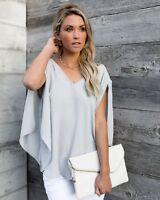 ea001ed1da Womens Tops Long Sleeve V Neck Bow Back T-shirt Tops Loose Blouse Tee Shirt