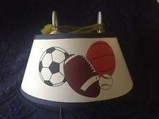 Boys Electric Sports Bed Lamp soccer football basketball baseball