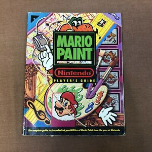 Mario Paint Nintendo Player's Strategy Guide