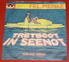 "7"" Single - FRL. MENKE Tretboot in Seenot"
