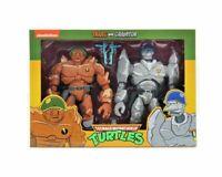 """NECA Teenage Mutant Ninja Turtles TRAAG and GRANITOR 7"""" Action Figures TMNT REEL"""