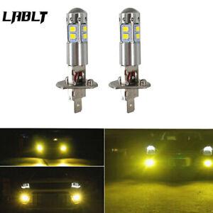 NEW 2x H1 3000K Yellow   100W High Power LED Fog Light Driving Bulb DRL