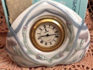 LLADRO 5655.3 Diamond Clock Retired! Original Blue Box! L@@K!