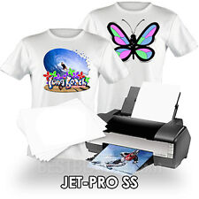 "NEENAH TRANSFER PAPER JET PRO SS LIGHT FABRICS 50 SHEETS of  8x5""x11"""