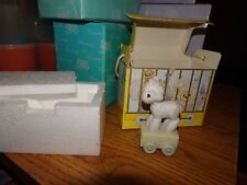 Precious Moments 1985 Birthday Train 1 Year Old Happy Birthday Little Lamb 15946