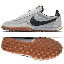 Nike Waffle Racer '17 876255-100 Off White/Black/Safety Orange Men Shoes Sz 9