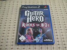 Guitar Hero Rocks the 80´s per PlayStation 2 ps2 PS 2 * OVP *