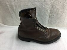 Red Wing 953 Brown Leather High Top Boots Super Sole USA Mens Size 9D