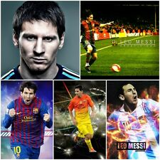 More details for lionel messi poster - large a3 or a4/a5 poster - frames available  - free uk p&p