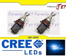 CREE LED 30W 9007 HB5 BLUE 10000K TWO BULB HEAD LIGHT JDM SHOW COLOR REPLACEMENT