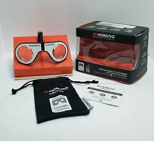 2016 Homido Virtual Reality Glasses For Smartphones w/ Pouch & Quick Start Guide