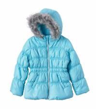 HAWKE & CO® Toddler Girl's 4T Capri Turquoise Sparkle Bubble Jacket NWT $80