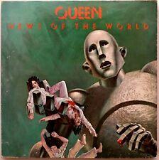 """QUEEN """"News of the World"""" Vinyl LP [Canada] - Original 1977 Elektra 6E-112 Q"""