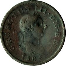 More details for 1806 large penny of george iii.  - nice collectible coin    #13