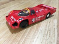 Scalextric Car Porsche 962 Le Mans Takefuji No33 Red C188 Slot Car 1:32