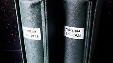 """BRIEFMARKENSAMMLUNG  """"NIEDERLANDE 1958 - 1986""""  komplett postfrisch auf SAFE-VD"""