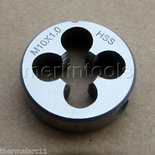 10mm x 1 Metric HSS Right hand Die M10 x 1.0mm Pitch