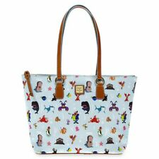 New Disney Dooney & Bourke Out to Sea Tote Bag Purse Ocean Friend Under the sea