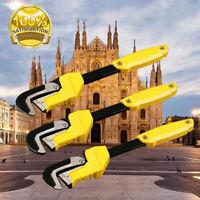 Stilsons Heavy Duty Plumbers Monkey Pipe Wrench Professional Plumbing Tool