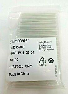 100 Count Bag of CommScope  Fiber Optic Splice Heat Shrink Protective Sleeve