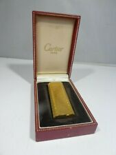 VINTAGE CARTIER PLAQUE D'OR 20 MM LIGHTER