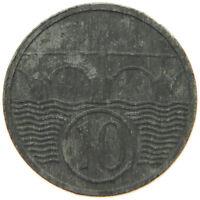 BOHEMIA MORAVIA 10 HALERU 1944   #rv 697