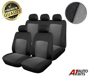 For Vauxhall Corsa Astra Vectra Signum Full Seat Covers Set Protectors Grey