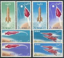 Dubai 1964 ** Mi.71/78 A Weltraum Raumfahrt Space