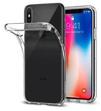 iPhone X Case, 10 Spigen® Transparent Soft TPU Gel Case [Liquid Crystal]...