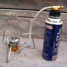 Metal Butane Gas Stove Converted Head Camping Butane Propane Gas Stove Adapter