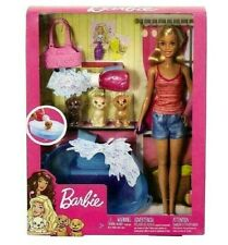 Barbie /& le sue sorelle GRANDE AVVENTURA CUCCIOLO CANE /& CUCCIOLI Playset-Nuovo con imballo