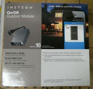 INSTEON On/Off Outdoor Module 2634-292