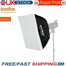 Godox 60*60cm Softbox Bowens Mount softbox for Studio Strobe Lighting Bulb Flash