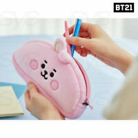 BTS BT21 Official Authentic Goods Plush Pencil Case Baby Ver + Tracking Number
