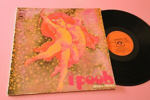 POOH LP OPERA PRIMA ORIGINALE 1971 LAMINATED COVER ORANGE LABEL