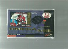 1998-99 PACIFIC*** OMEGA NHL*** FACTORY SEALED***HOCKEY HOBBY BOX*** see scan***