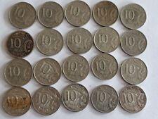 Australian Ten Cent coins lot 1967-2005
