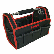 Tool Bag 13 19 Pockets Heavy Duty Tool Carry Case Plumbers Electricians