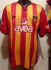 Galatasaray SK match worn Stjepan Tomas Croatia Umbro authentic jersey #2 XL
