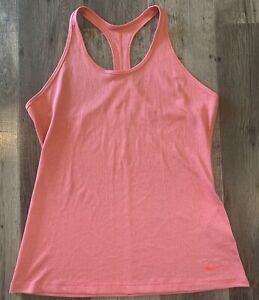 Nike Dri-Fit Slim Fit Pink Tank Top Women's XL