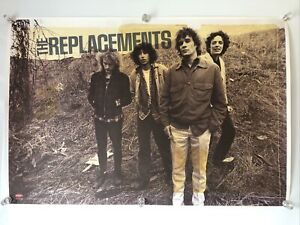 The Replacements 'Pleased to Meet Me' PROMO Poster for Rhino 2008 Reissue