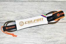 Culprit Surf 6ft Pro Performance Comp Surfboard Leash - Black