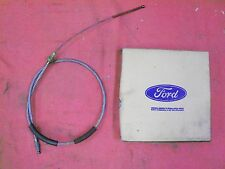 1973 1974 1975 Ford F-100/150 Pickup Rear Parking Brake Cable, NOS D3TZ-2A635-A